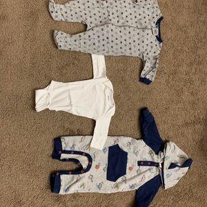 baby cloth 0-3 (bundle of 3)
